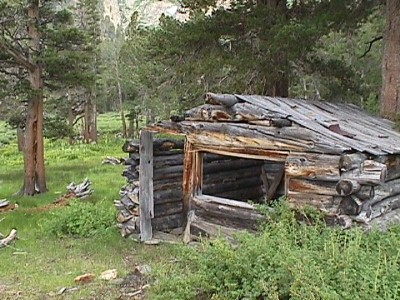 Dunderberg cabin, Ward mining village
