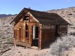 Inyo mine cabin