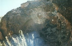 Spider web in Chadago Canyon